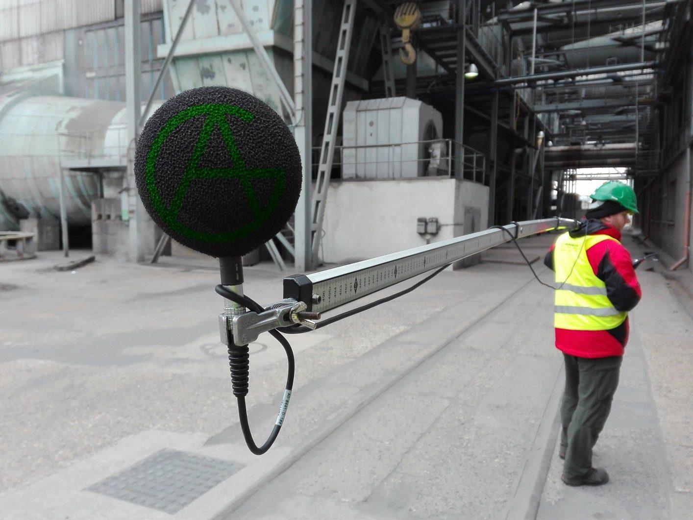 Měření hluku průmyslový provoz