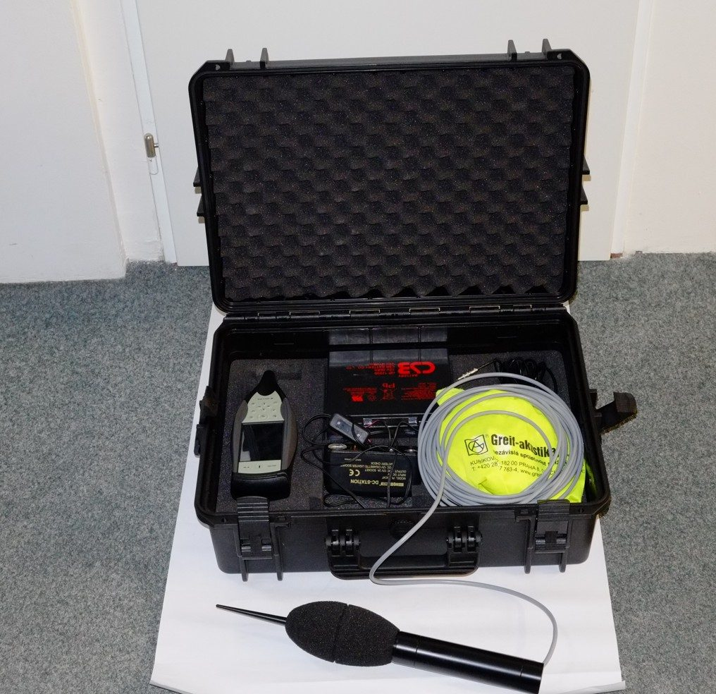 Sada pro měření hluku